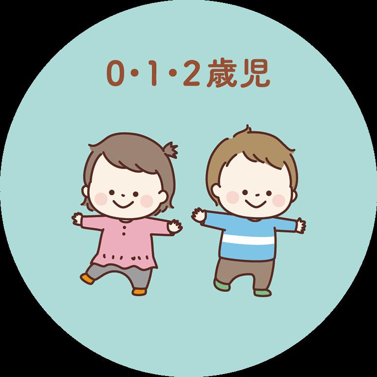 0・1・2歳児