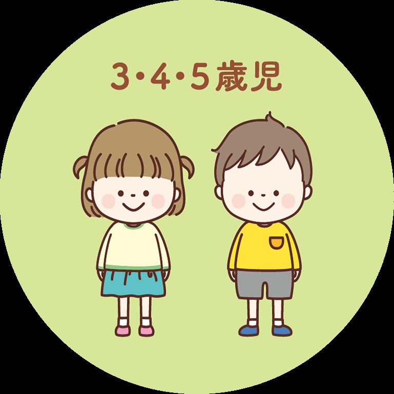 3・4・5歳児